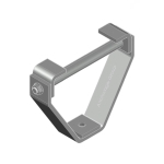 Galvanised beam clamp