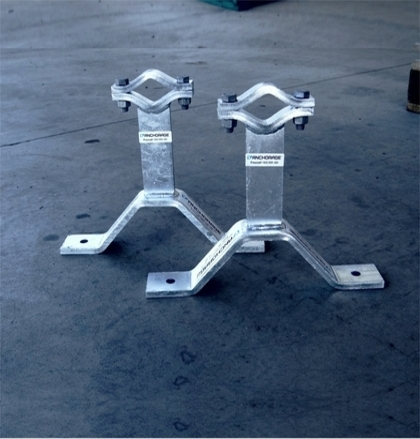 custom pipe clamps by Anchorage Group