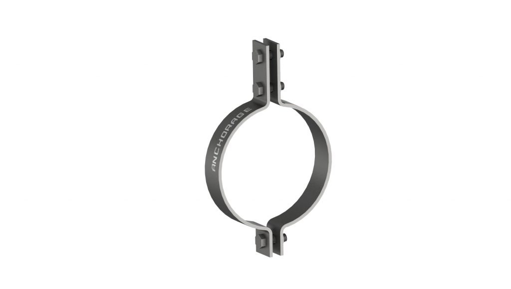 Heat Resistant 3-Bolt Pipe Clamp AG190