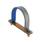 AG440 Insulated saddle clamp
