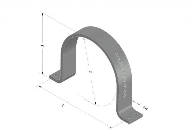 heavy duty Saddle clamp